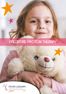 Paediatric proton therapy
